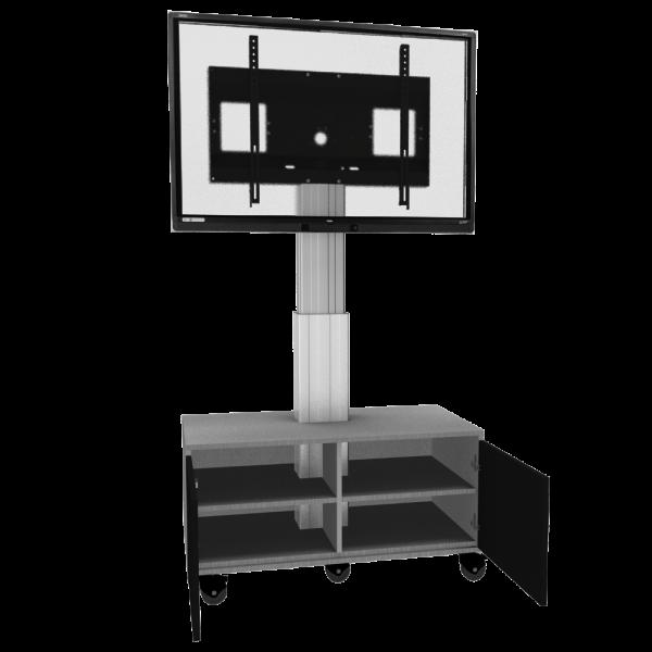 Display-Rollwagen-Adjust-4275MS-mit-Schrank-50cm_Kat